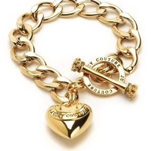 Juicy Couture Banner Heart Starter Bracelet